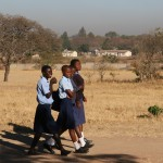 Local teenagers from Epworth attend the MRCH Secondary School