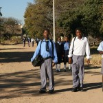 All the children must wear uniforms and shoes to attend school