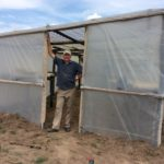 Australian, Mark Edmonds, had a seedling shed built so the home can produce it's own crop seedlings