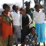 Church volunteers who run the Outreach Centre