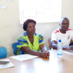 Several staff are involved in the training of volunteer care givers in the Community childcare centres