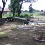 Refurbishing work in progress